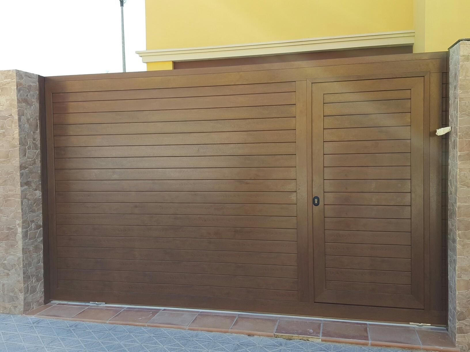 Puertas correderas puertas de garaje en murcia frampe - Puertas automaticas en murcia ...