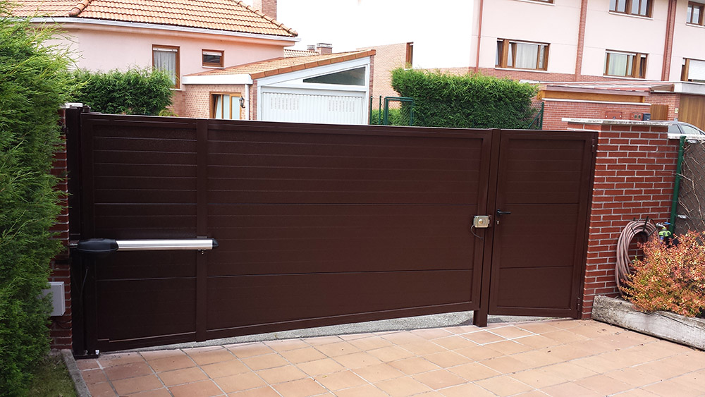 puertas abatibles puertas de garaje en murcia frampe